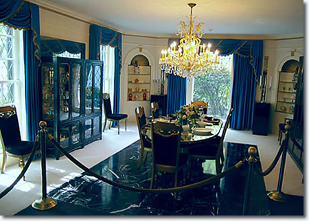 The Graceland Dining Room.