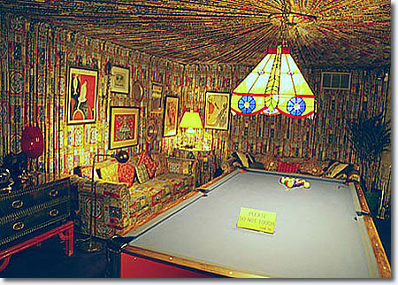 The Graceland Pool Room.