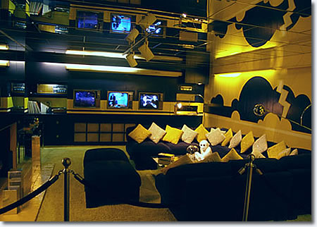 The Graceland TV Room.